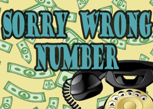 SORRY WRONG NUMBER LOGO