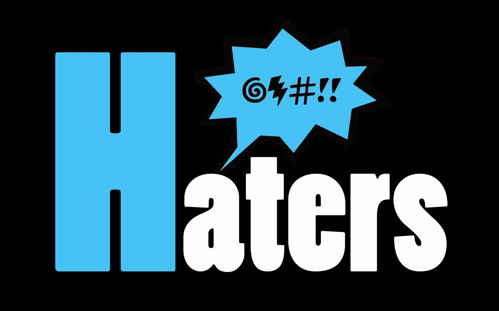 HATERS logo